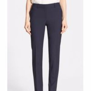 Theory Super Slim Edition Stretch Wool Blend Pant